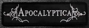 """Apocaliptica Logo 5x1"""" Embroidered Patch"""