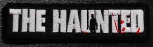 "The Haunted - Logo 3x1"" Embroidered Patch"