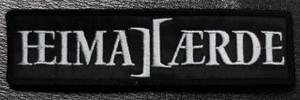 "Heima Aerde Grey Logo 4x1"" Embroidered Patch"