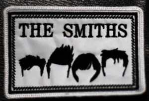 """The Smiths Heads Logo 4x2"""" Embroidered Patch"""