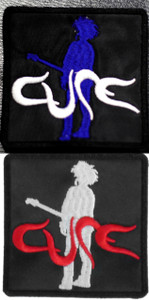 """The Cure Boys Don't Cry 3x3"""" Embroidered Patch"""