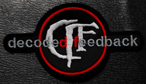 """Decoded Feedback Logo 5x3"""" Embroidered Patch"""