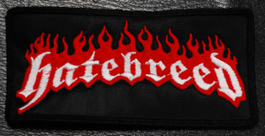 """Hatebreed Logo 5x2."""" Embroidered Patch"""