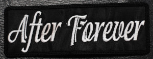 "After Forever Logo 4x2"" Embroidered Patch"