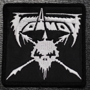 """Voivod Logo 3x3"""" Embroidered Patch"""