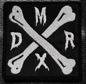 "Deathrock Mexico Logo 3x3"" Embroidered Patch"