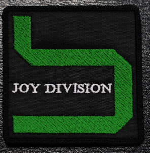 """Joy Division Substance Logo 3x3"""" Embroidered Patch"""