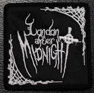 """London After Midnight Logo 3x3"""" Embroidered Patch"""