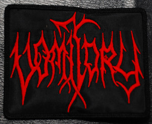 """Vomitory Red Logo 4x3"""" Embroidered Patch"""
