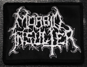 "Morbid Insulter Logo 4x3"" Embroidered Patch"