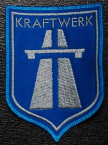 """Kraftwerk Autobah Logo 3x4"""" Embroidered Patch"""