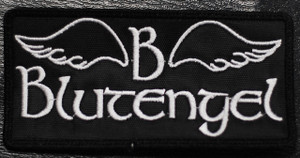 "Blutengel Logo 4x2"" Embroidered Patch"