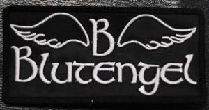 "Blutengel Logo 4x2"" Embroidered Patch"