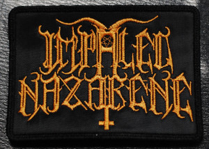 """Impaled Nazarene 4x3"""" Embroidered Patch"""