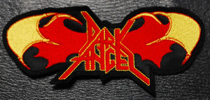 "Dark Angel Red Wings Logo 5x2"" Embroidered Patch"