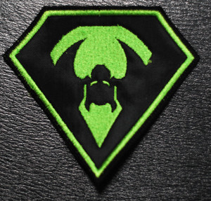 """Overkill Green Diamond 4x3.5"""" Embroidered Patch"""