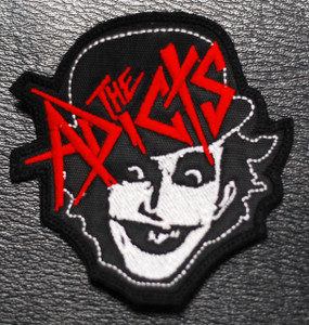 """The Adicts Monkey 3x3"""" Embroidered Patch"""