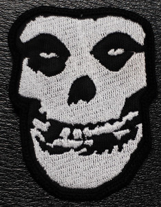"""Misfits Ghoul 2x3"""" Embroidered Patch"""