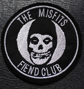 """Misfits Fiend Club 3x3"""" Embroidered Patch"""