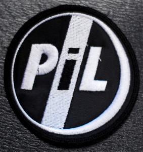 "P.I.L. Public Image Ltd Logo 3x3"" Embroidered Patch"