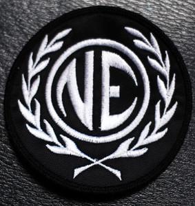 "Nitzer Ebb NE Logo 3x3"" Embroidered Patch"