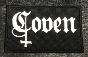 "Coven Black 4x2.5"" Embroidered Patch"