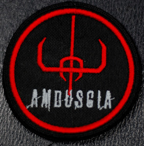 "Amduscia Logo 4x4"" Embroidered Patch"