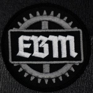 """EBM Cog Logo 4x4"""" Embroidered Patch"""