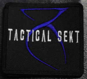 """Tactical Sekt Logo 4x3"""" Embroidered Patch"""
