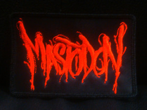 "Mastodon Logo 4x3"" Embroidered Patch"