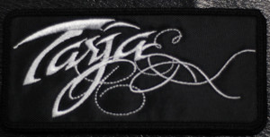 "Tarja Logo 4.5x2"" Embroidered Patch"
