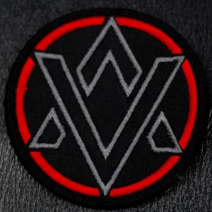 "Alien Vampires Circular Logo 4x4"" Embroidered Patch"