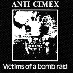 "Anti Cimex Victims of a Bomb Raid 5x4"" Printed Patch"