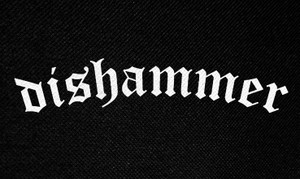 "Dishammer Logo 5x3"" Printed Patch"