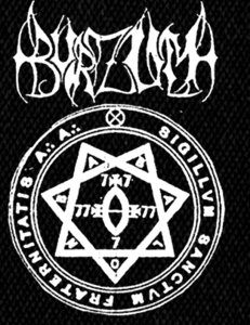 "Burzum Heptagram 4x6"" Printed Patch"