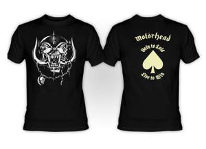 Motorhead Born to Lose - Live to Sin T-Shirt