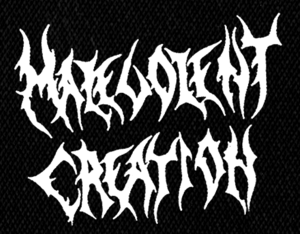 "Malevolent Creation Logo 5x4"" Printed Patch"