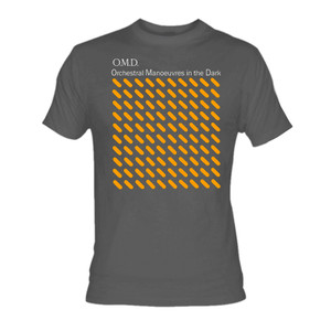OMD Orchestral Manoeuvres in the Dark Grey T-Shirt