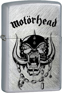 Motorhead - Logo Chrome Lighter Lemmi Metal Punk