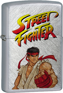 Street Fighter - Ryu Chrome Lighter Videogames Ken Chun Li