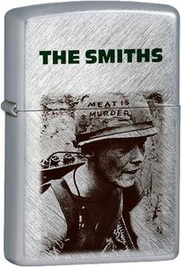 The Smiths - Meat Is Murder Chrome Lighter Post Punk Morrissey