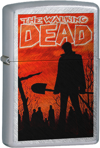 The Walking Dead - Comic Cover Chrome Lighter Zombies Series