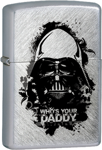 Star Wars - Darth Vader - Who's Your Daddy Chrome Lighter
