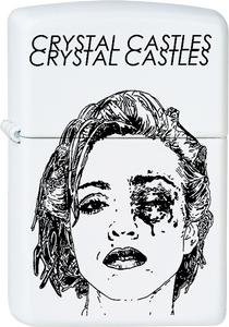 Crystal Castles - Madonna White Lighter Electro Synth Pop