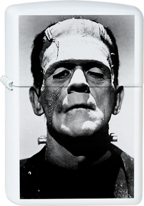 Frankenstein White Lighter Monsters Movies Horror