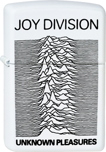 Joy Division - Unknown Pleasures White Lighter Post Punk