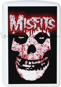 Misfits - Blood Splattered Ghoul White Lighter