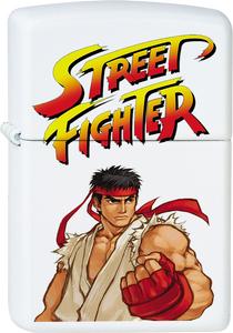 Street Fighter - Ryu White Lighter