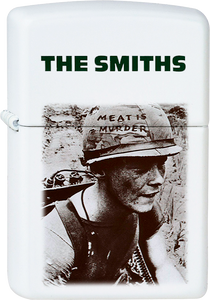 The Smiths - Meat Is Murder White Lighter