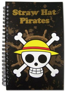 One Piece Straw Hat Pirates Notebook
